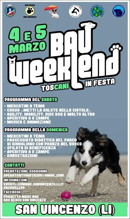 locandina bau week end