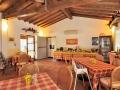 Ampia sala pasti per assaporare i gusti tipici del luogo